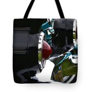 Black 1955 Thunderbird Tote Bag