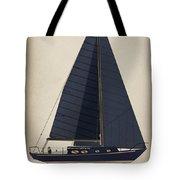 Black Alberg  Tote Bag