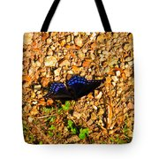 Black And Blue 2 Tote Bag