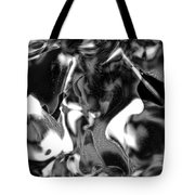 Black And Indeed White Tote Bag