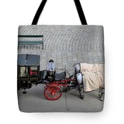 Black And Red Horse Carriage - Vienna Austria  Tote Bag