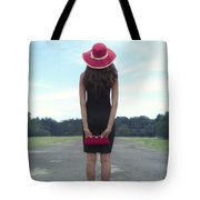 Black And Red Tote Bag by Joana Kruse