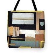 Black And Tan Tote Bag