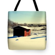 Black And White And Color Tote Bag