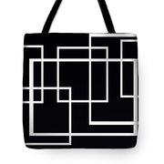 Black And White Art - 145 Tote Bag