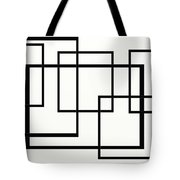 Black And White Art - 146 Tote Bag