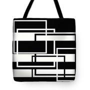 Black And White Art - 151 Tote Bag