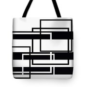 Black And White Art - 152 Tote Bag