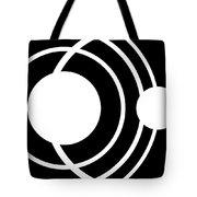 Black And White Art 170 Tote Bag