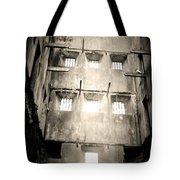 Black And White Bodmin Jail Tote Bag