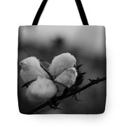 Black And White Boll Tote Bag