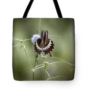Black And White Butterfly V2 Tote Bag