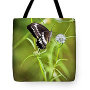 Black And White Butterfly V3 Tote Bag