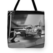 Black And White Carhop Tote Bag