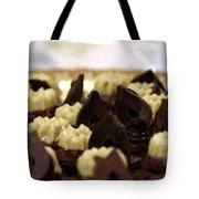 Black And White Chocolate Tote Bag