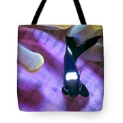 Black And White Damsels 4 Tote Bag