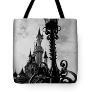 Black And White Fairy Tale Tote Bag