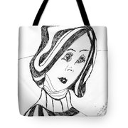 Black And White Fashion Tote Bag
