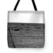 Black And White Fence  Tote Bag