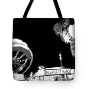 Black And White Festival Night Tote Bag