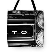 Black And White Gto Tote Bag
