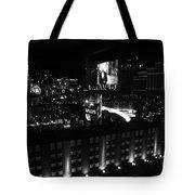 Black And White In Vegas Tote Bag