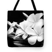 Black And White Lightning Tote Bag