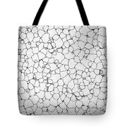 Black And White Lines Tote Bag