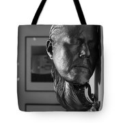 Black And White Mask Tote Bag