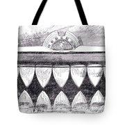 Black And White Mercury Tote Bag