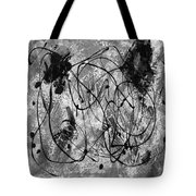 Black And White Tote Bag