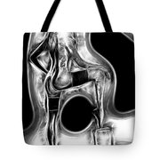 Black And White Nude Tote Bag
