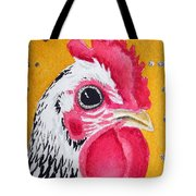 Black And White Nugget Tote Bag