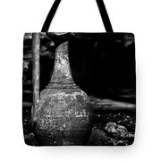 Black And White Pitcher Tote Bag