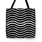 Black And White Postage Tote Bag