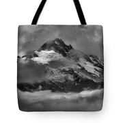 Black And White Tantalus Storms Tote Bag