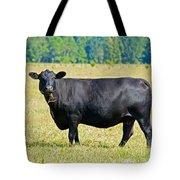 Black Angus Cattle Tote Bag