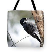 Black-backed Profile Tote Bag
