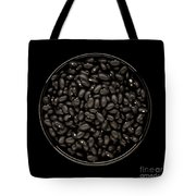 Black Beans In Bowl Tote Bag