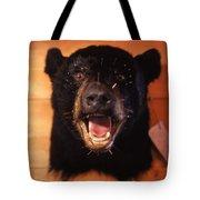 Black Bear Head Tote Bag