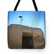 Black Bird On Duty Tote Bag