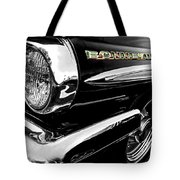 Black Bonneville Tote Bag