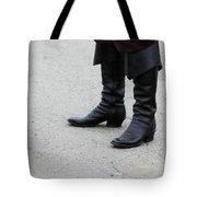 Black Boots Tote Bag