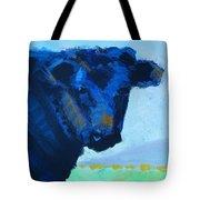 Black Calf Tote Bag