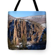Black Canyon Butte Tote Bag