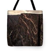 Black Canyon National Park In Colorado Tote Bag