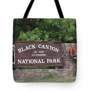 Black Canyon Of The Gunnison National Park Tote Bag