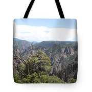 Black Canyon Of The Gunnison Panorama Tote Bag