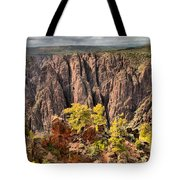 Black Canyon Spires Tote Bag