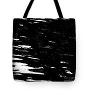 Black Cinders In Winter Tote Bag